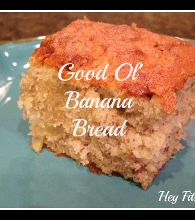 Good Ol' Banana Bread