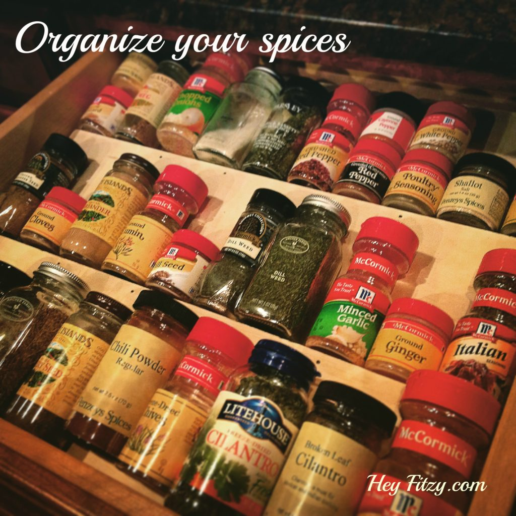 Organize your spices
