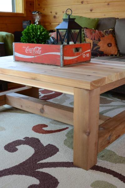 DIY Cedar Table