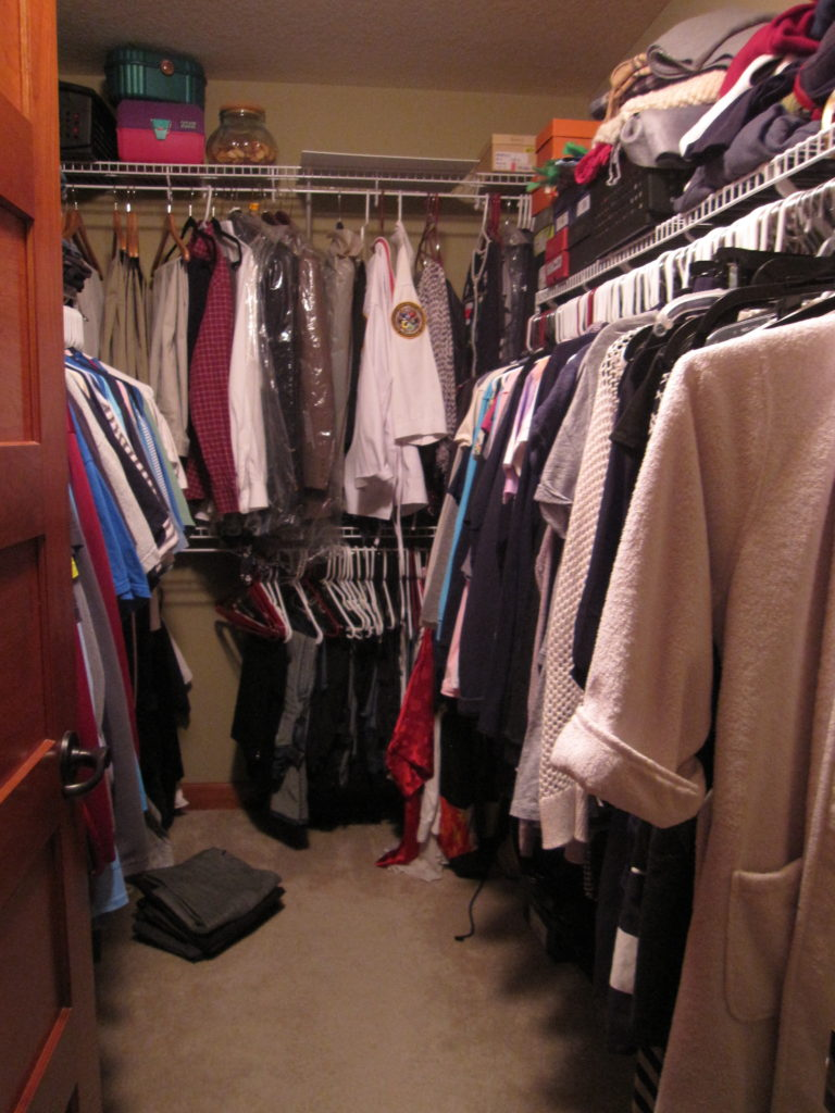 master closet refresh
