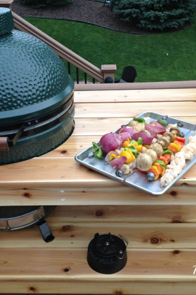 The Big Green Egg DIY Table