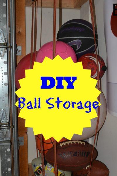 DIY Ball Storage
