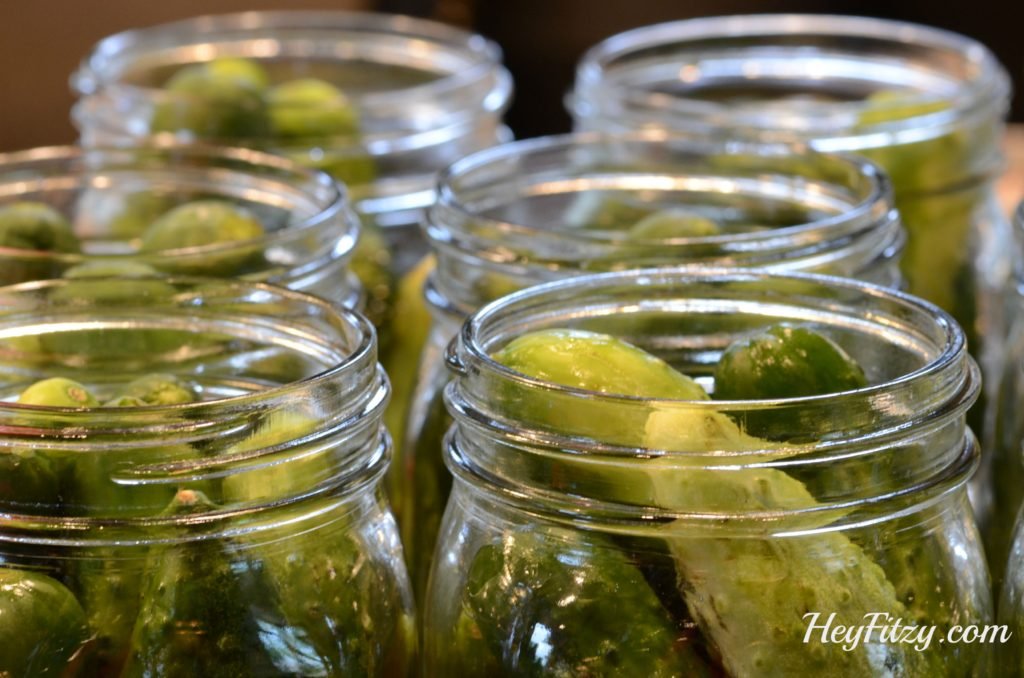Filling the Pickle Jars
