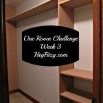 master closet week 3
