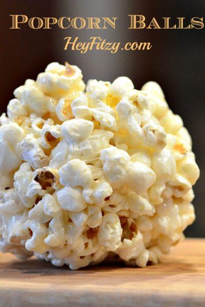 A Halloween Tradition – Popcorn Balls