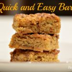 quick and easy bars