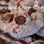 peppermint oreo cookie