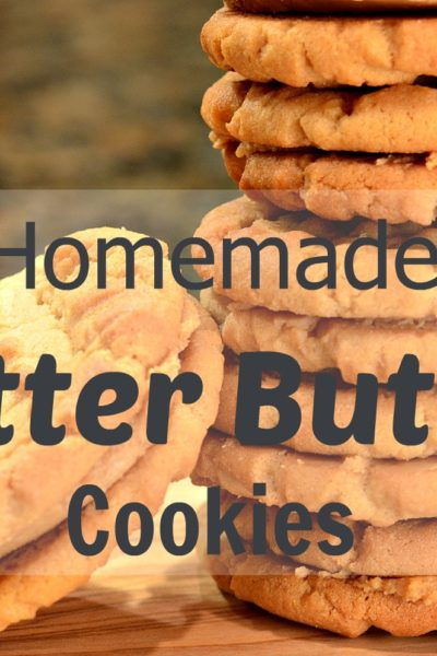 Homemade Nutter Butter Cookies