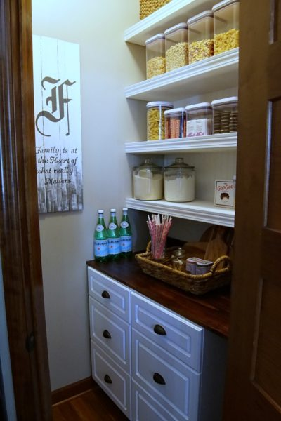 One Room Challenge – Week Six – Pantry