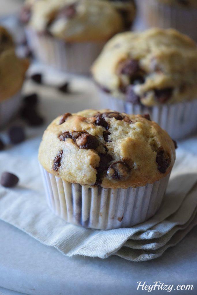 peanutbutter-chocolatechip-muffins