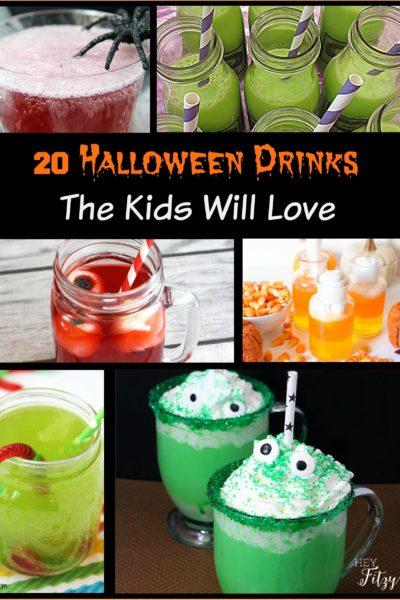 20 Halloween Drinks The Kids Will Love