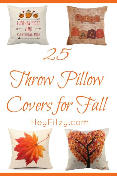 25 Fall Pillows for Your Fall Decor