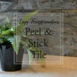 peel & stick tile