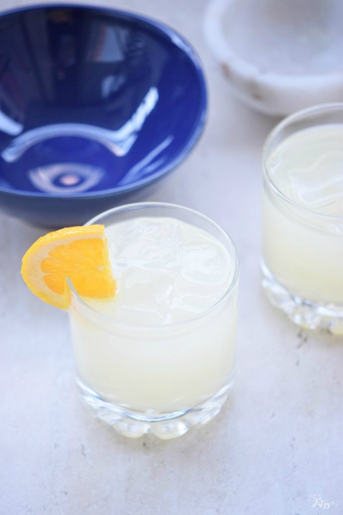 citrus punch mocktail