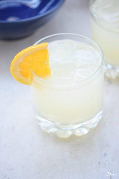 citrus punch mocktail