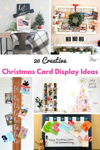 20 Creative Ways to Display Your Christmas Cards