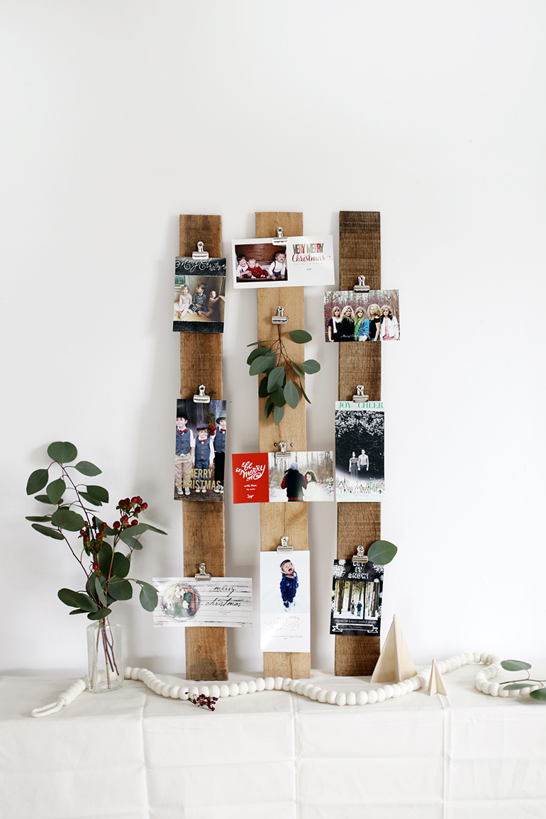 20 Creative Ways to Display Your Christmas Cards - Hey Fitzy