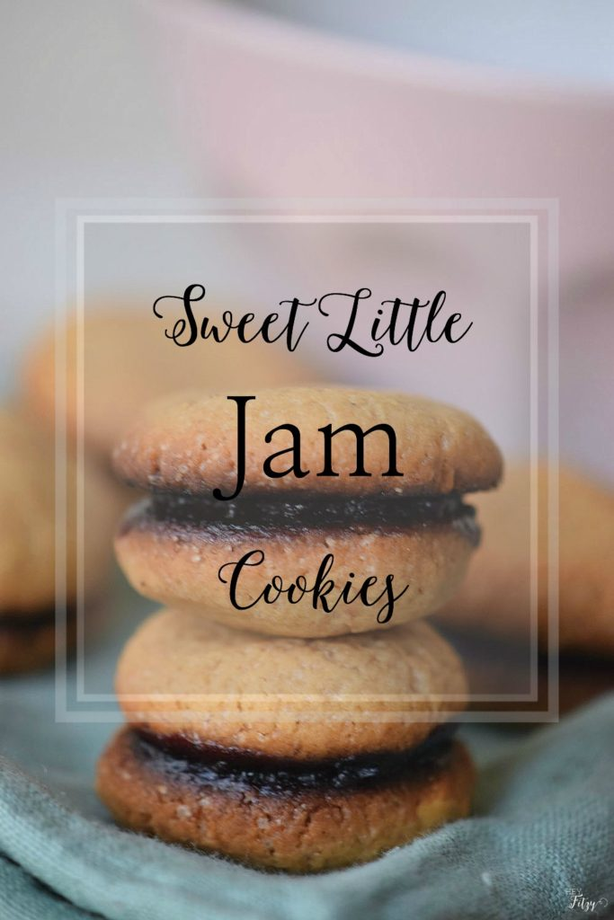 sweet little jam cookies