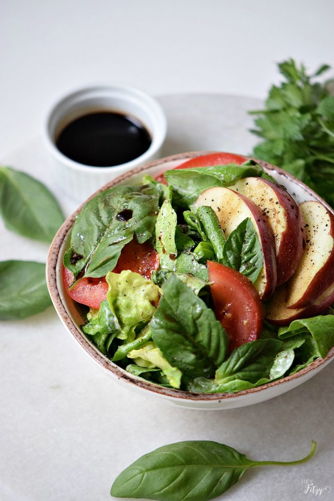 apple caprese salad