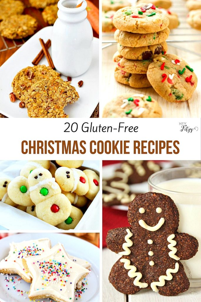 20 Gluten-Free Christmas Cookie Recipes