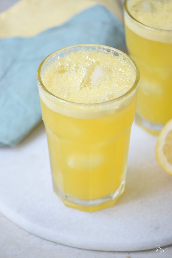 orange passion fruit drink