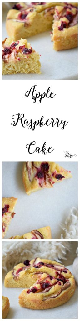 apple raspberry cake