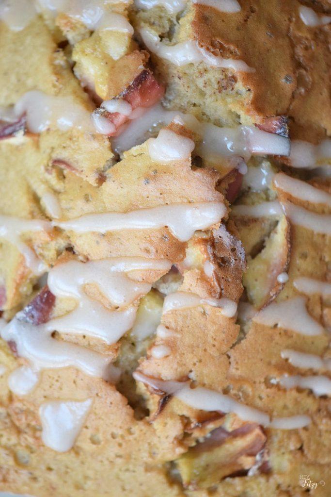 whole wheat apple pound cake