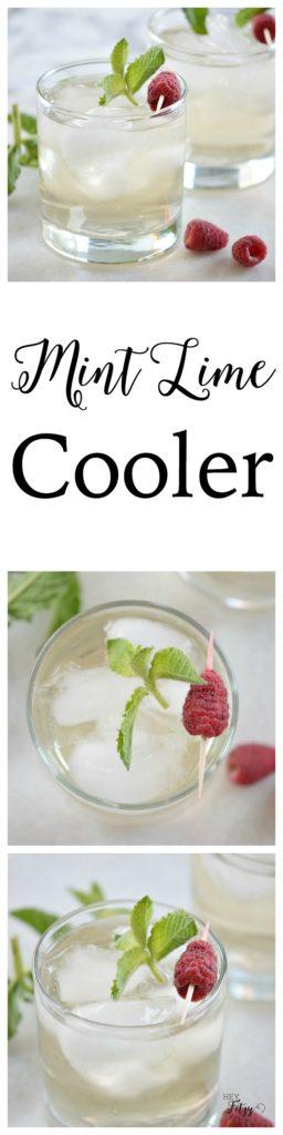 mint lime cooler