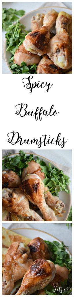 spicy buffalo drumsticks