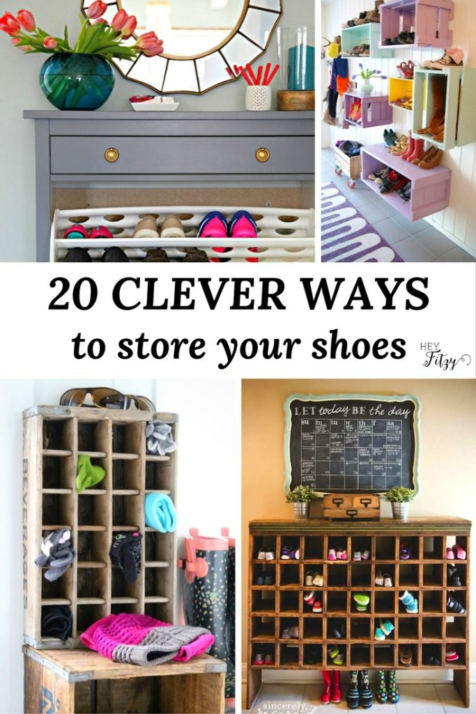 20 Clever Ways to Store Your Shoes