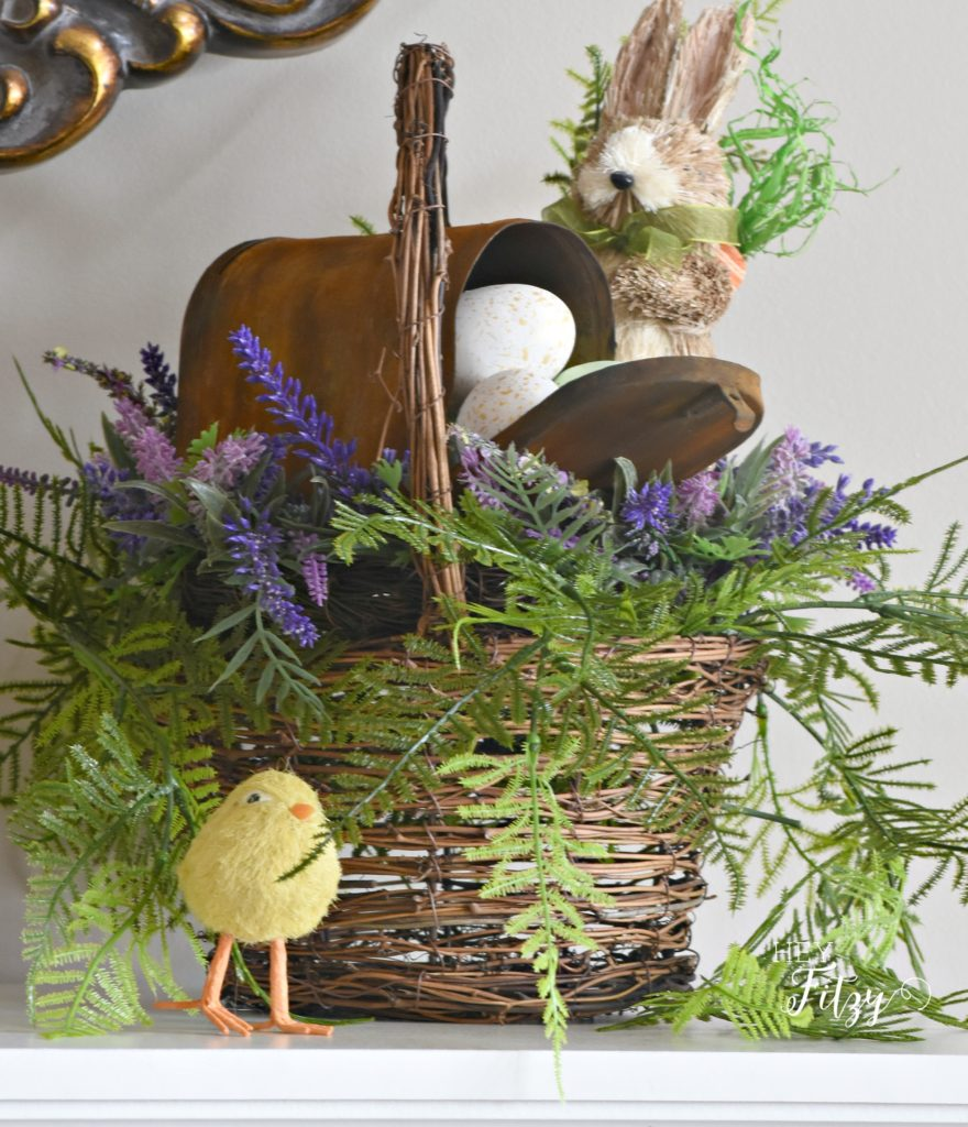 martha stewart inspired easter basket