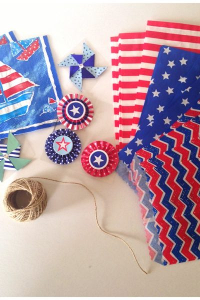 The Cutest Banner For Your July 4th Events
