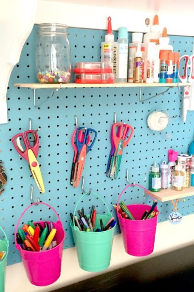 How to make extra space in your craft room!