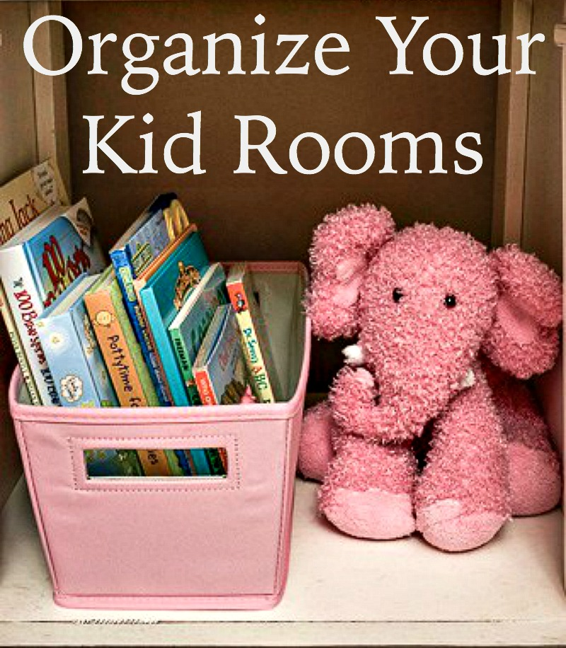 kid room organization