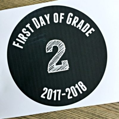 printable school sign