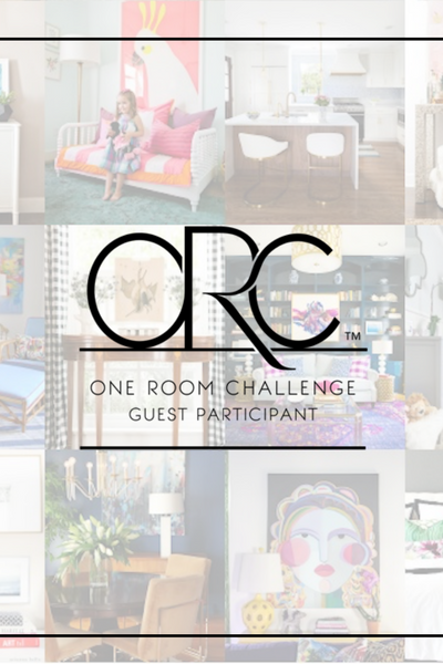One Room Challenge-He is not a little boy any more!