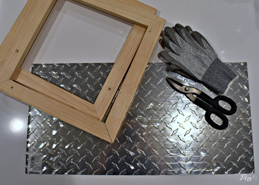 Picture Frames with Diamond Tread Aluminum Sheets - Hey Fitzy