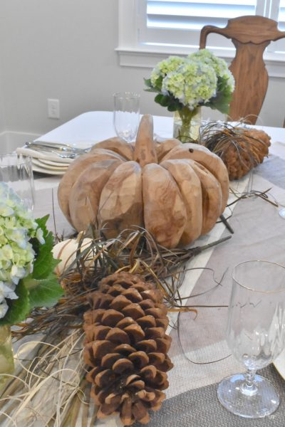 Thanksgiving Table- Sweet and Simple